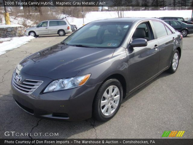 magnetic gray metallic 2008 toyota camry hybrid ash interior vehicle. Black Bedroom Furniture Sets. Home Design Ideas