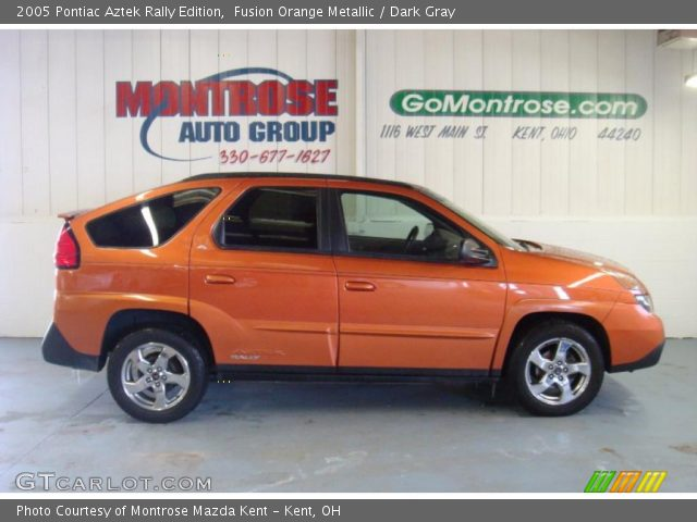 fusion orange metallic 2005 pontiac aztek rally edition. Black Bedroom Furniture Sets. Home Design Ideas