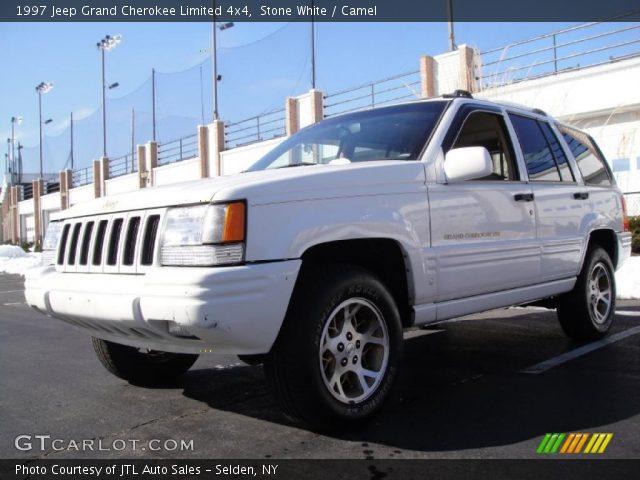 Stone white 1997 jeep grand cherokee limited 4x4 camel - 1997 jeep grand cherokee interior ...