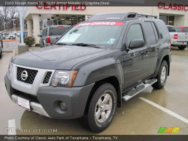 night armor metallic 2009 nissan xterra se graphite. Black Bedroom Furniture Sets. Home Design Ideas