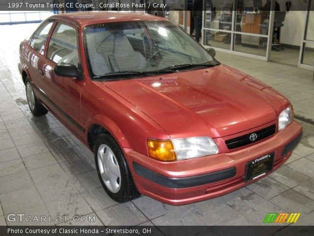 coral rose pearl 1997 toyota tercel ce coupe gray. Black Bedroom Furniture Sets. Home Design Ideas
