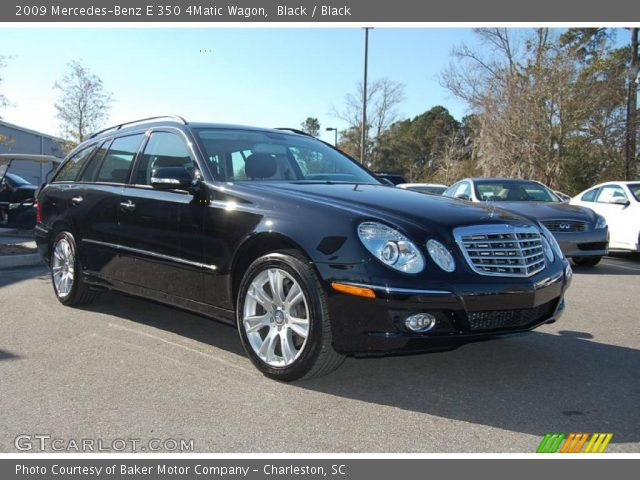 black 2009 mercedes benz e 350 4matic wagon black. Black Bedroom Furniture Sets. Home Design Ideas