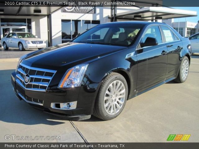 black raven 2010 cadillac cts 3 6 premium sedan. Black Bedroom Furniture Sets. Home Design Ideas