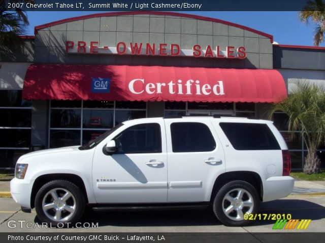 2007 Chevrolet Tahoe LT in Summit White
