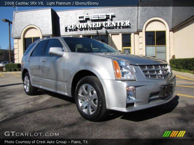 2008 Cadillac SRX V8 in Light Platinum