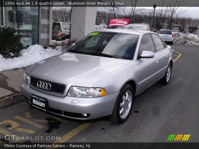 aluminum silver metallic 1999 audi a4 2 8 quattro sedan. Black Bedroom Furniture Sets. Home Design Ideas