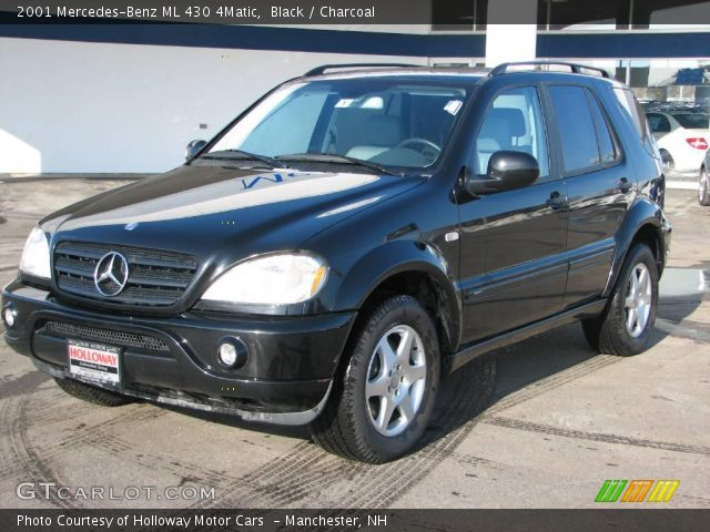 black 2001 mercedes benz ml 430 4matic charcoal. Black Bedroom Furniture Sets. Home Design Ideas