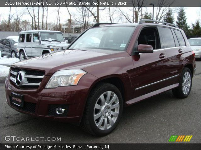 Barolo Red Metallic 2010 Mercedes Benz Glk 350 4matic