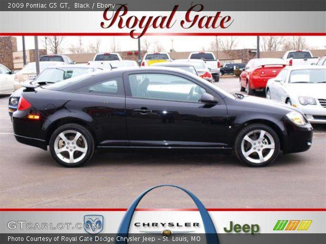 09 Pontiac G5 Gt. Black 2009 Pontiac G5 GT with