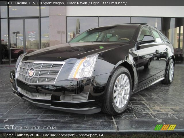 black raven 2010 cadillac cts 3 0 sport wagon light. Black Bedroom Furniture Sets. Home Design Ideas