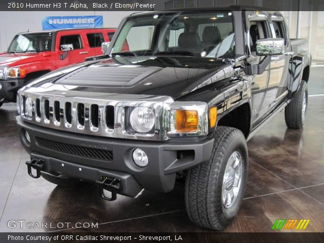 2010 Hummer H3 T Alpha in Black