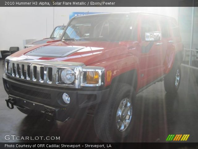 2010 Hummer H3 Alpha in Solar Flare Metallic
