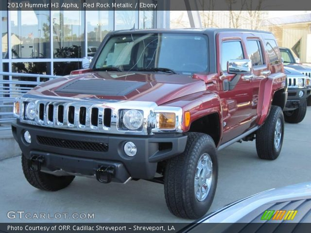 2010 Hummer H3 Alpha in Red Rock Metallic