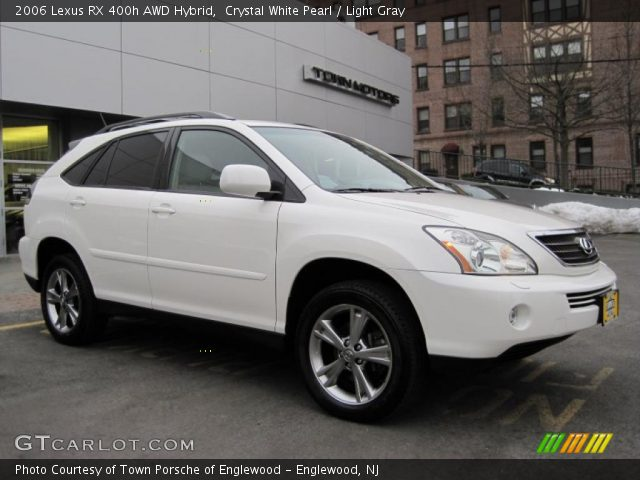 crystal white pearl 2006 lexus rx 400h awd hybrid. Black Bedroom Furniture Sets. Home Design Ideas
