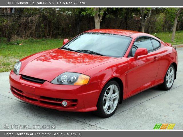 rally red 2003 hyundai tiburon gt v6 black interior. Black Bedroom Furniture Sets. Home Design Ideas