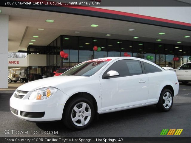 2007 Chevrolet Cobalt Coupe. Summit White 2007 Chevrolet