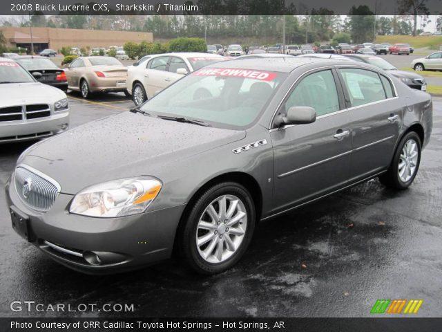 Sharkskin - 2008 Buick Lucerne CXS - Titanium Interior | GTCarLot.com ...