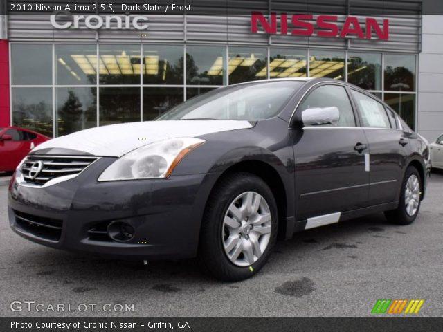 Dark Slate 2010 Nissan Altima 2 5 S Frost Interior Vehicle Archive 26258423
