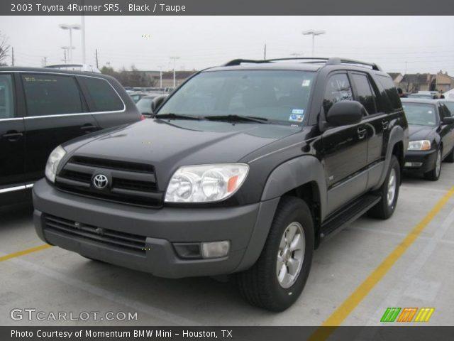 Black 2003 Toyota 4runner Sr5 Taupe Interior Vehicle Archive 26355779