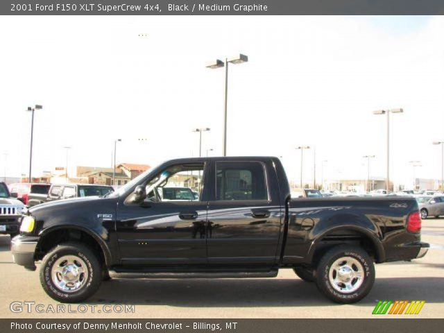 black 2001 ford f150 xlt supercrew 4x4 medium graphite interior. Cars Review. Best American Auto & Cars Review