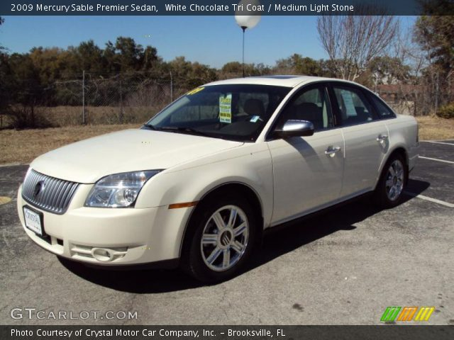 White chocolate tri coat 2009 mercury sable premier for G stone motors used cars