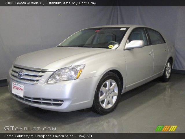 titanium metallic 2006 toyota avalon xl light gray. Black Bedroom Furniture Sets. Home Design Ideas
