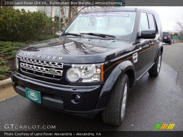 2010 Land Rover LR4 V8 in Buckingham Blue Metallic