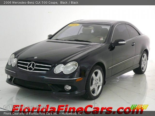 Black 2006 mercedes benz clk 500 coupe black interior for 2006 mercedes benz clk 500