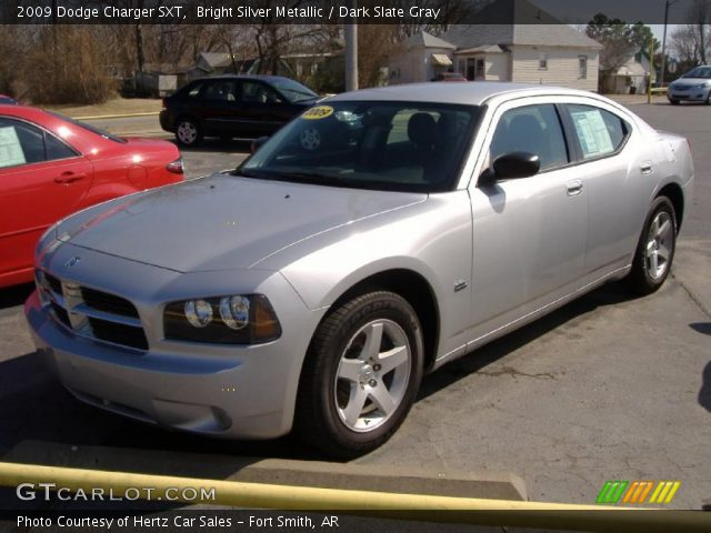 bright silver metallic 2009 dodge charger sxt dark. Black Bedroom Furniture Sets. Home Design Ideas