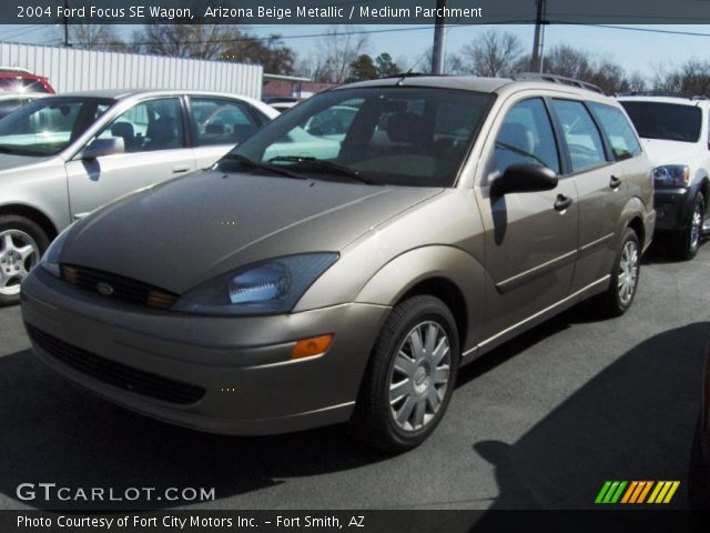 arizona beige metallic 2004 ford focus se wagon medium. Black Bedroom Furniture Sets. Home Design Ideas
