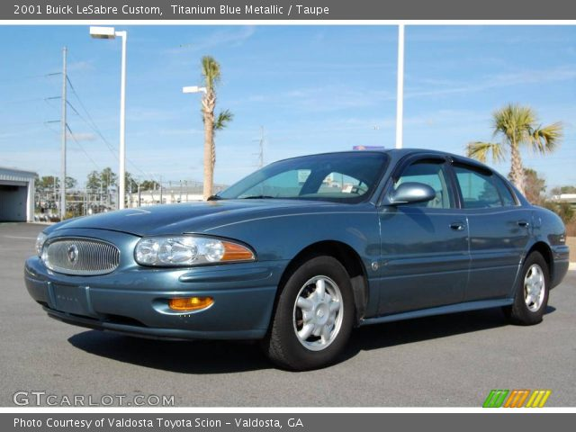 titanium blue metallic 2001 buick lesabre custom taupe interior vehicle. Black Bedroom Furniture Sets. Home Design Ideas