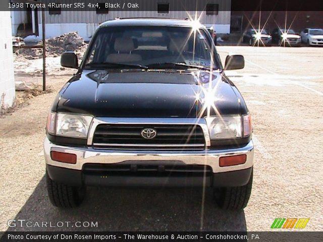 Black 1998 Toyota 4runner Sr5 4x4 Oak Interior Vehicle Archive 26743845