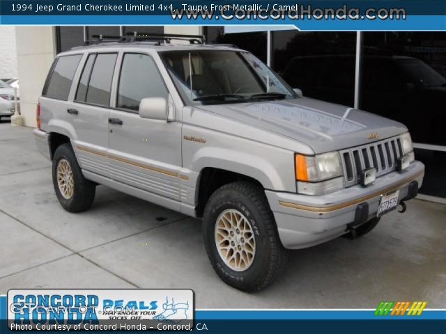 1994 Jeep Grand Cherokee Limited 4x4 in Taupe Frost Metallic