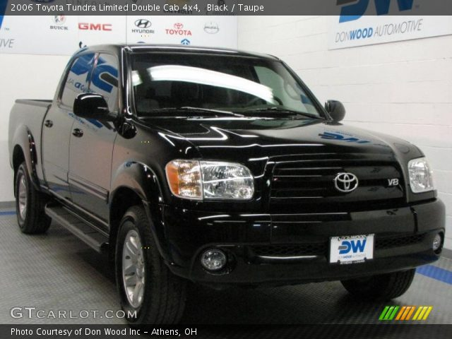 black 2006 toyota tundra limited double cab 4x4 taupe interior vehicle. Black Bedroom Furniture Sets. Home Design Ideas
