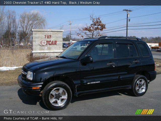 Black 2003 Chevrolet Tracker Lt 4wd Hard Top Medium Gray Interior Gtcarlot Com Vehicle Archive 26778235