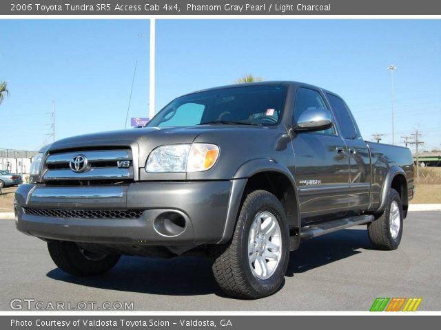 phantom gray pearl 2006 toyota tundra sr5 access cab 4x4 light charcoal interior gtcarlot. Black Bedroom Furniture Sets. Home Design Ideas