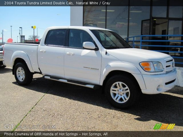 natural white 2004 toyota tundra limited double cab. Black Bedroom Furniture Sets. Home Design Ideas