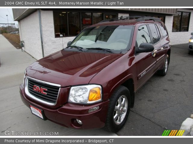 monterey maroon metallic 2004 gmc envoy xl slt 4x4. Black Bedroom Furniture Sets. Home Design Ideas