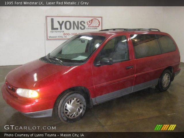 laser red metallic 1995 ford windstar lx grey interior. Black Bedroom Furniture Sets. Home Design Ideas