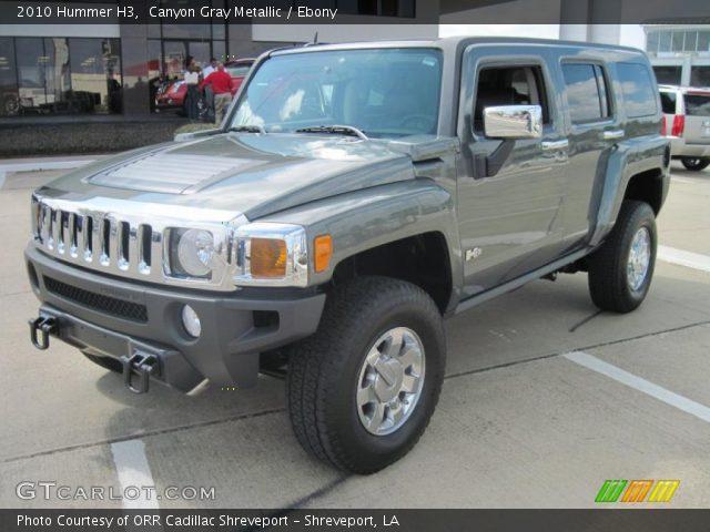 2010 Hummer H3  in Canyon Gray Metallic