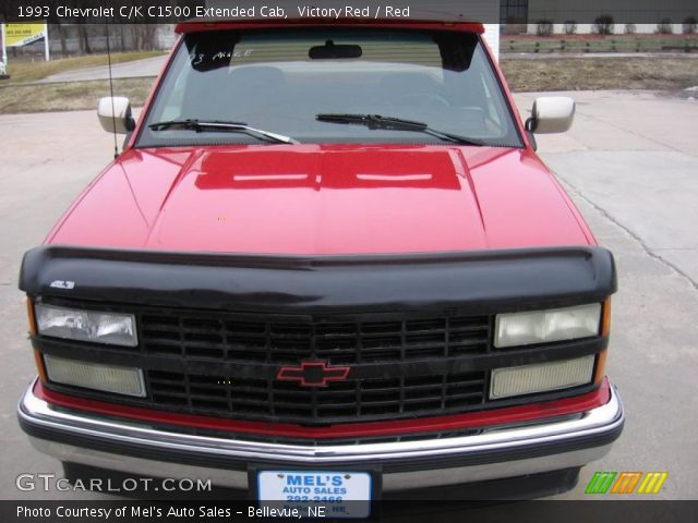 1993 Chevrolet C/K C1500 Extended Cab in Victory Red