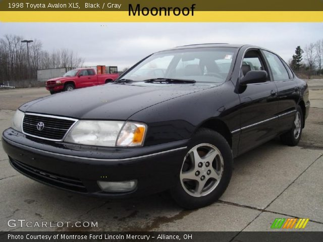 black 1998 toyota avalon xls gray interior gtcarlot com vehicle archive 27071032 gtcarlot com