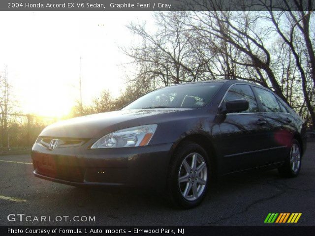 2004 Honda Accord EX V6 Sedan in Graphite Pearl