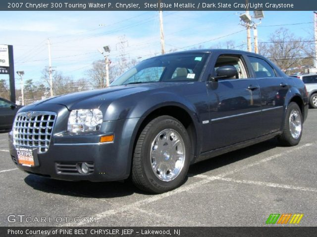 Steel blue metallic 2007 chrysler 300 touring walter p - 2007 chrysler 300 custom interior ...