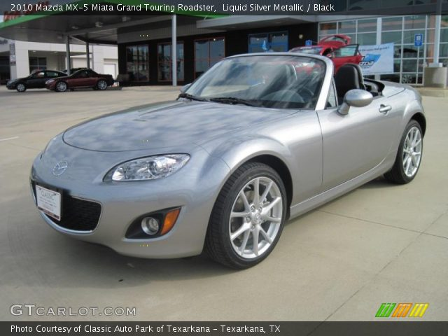 liquid silver metallic 2010 mazda mx 5 miata grand. Black Bedroom Furniture Sets. Home Design Ideas
