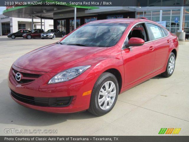 Mazda 6 2010 Red. Sangria Red Mica 2010 Mazda