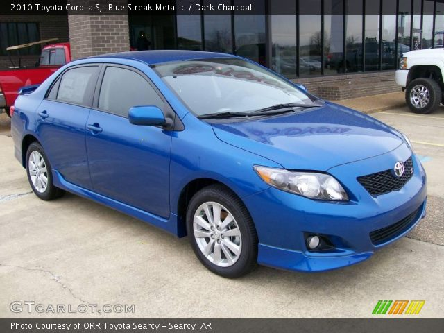 2010 Toyota Corolla S in Blue Streak Metallic