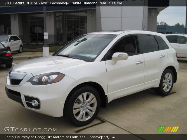 2010 Acura RDX SH-AWD Technology in White Diamond Pearl. Click to see ...