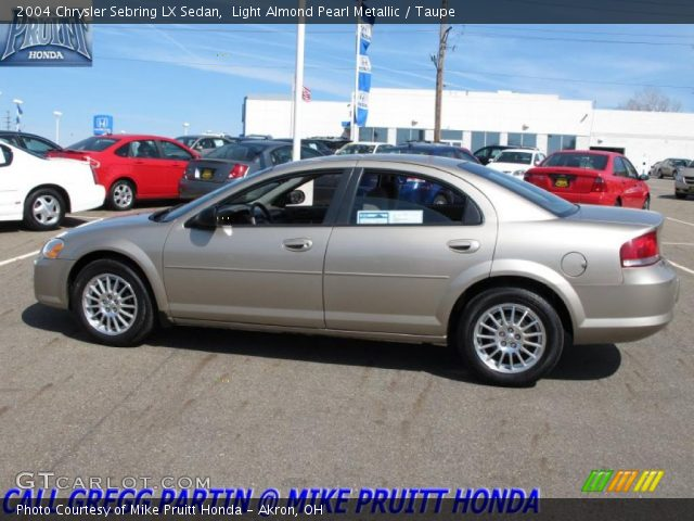 light almond pearl metallic 2004 chrysler sebring lx. Black Bedroom Furniture Sets. Home Design Ideas
