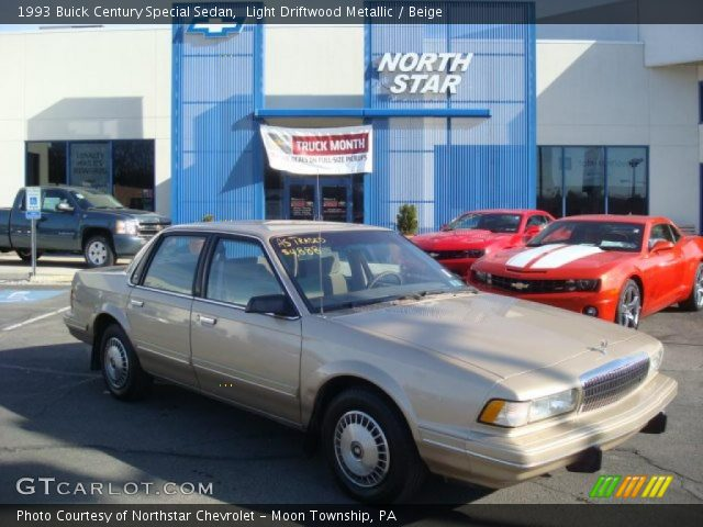 1993 Buick Century Special Sedan in Light Driftwood Metallic. Click to ...